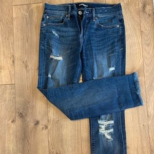 NWOT Express Skinny Ankle Mid Rise Jeans